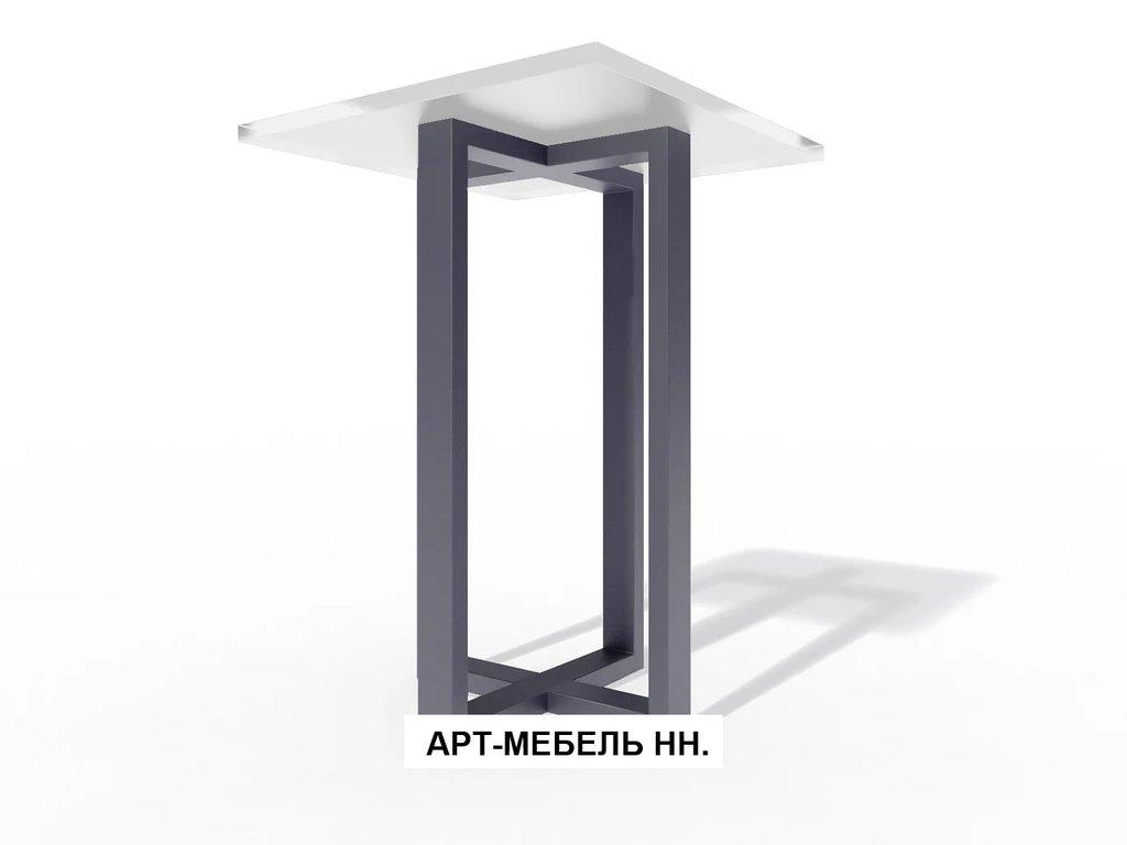 Подстолья для столов.: Подстолье барное 0.39 (чёрный) в АРТ-МЕБЕЛЬ НН