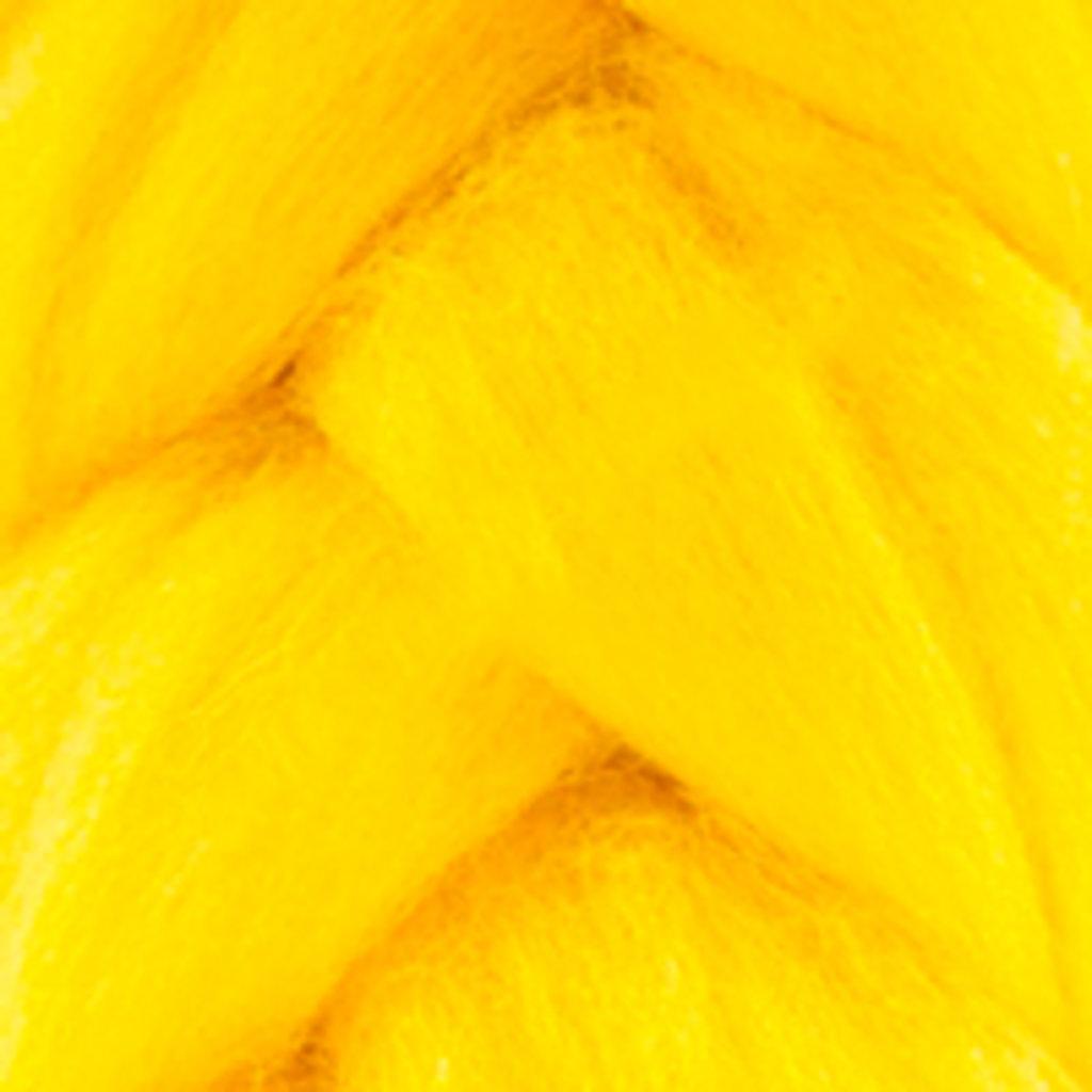 Фелтинг: Шерсть для валяния п/т КАМТ 50г. цв.104 желтый в Шедевр, художественный салон
