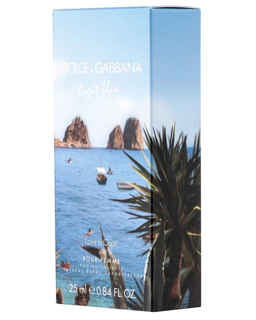 Dolce&Gabbana: D&G Light Blue Love in Capri Туалетная вода edt жен 25 | 50 | 100ml в Элит-парфюм