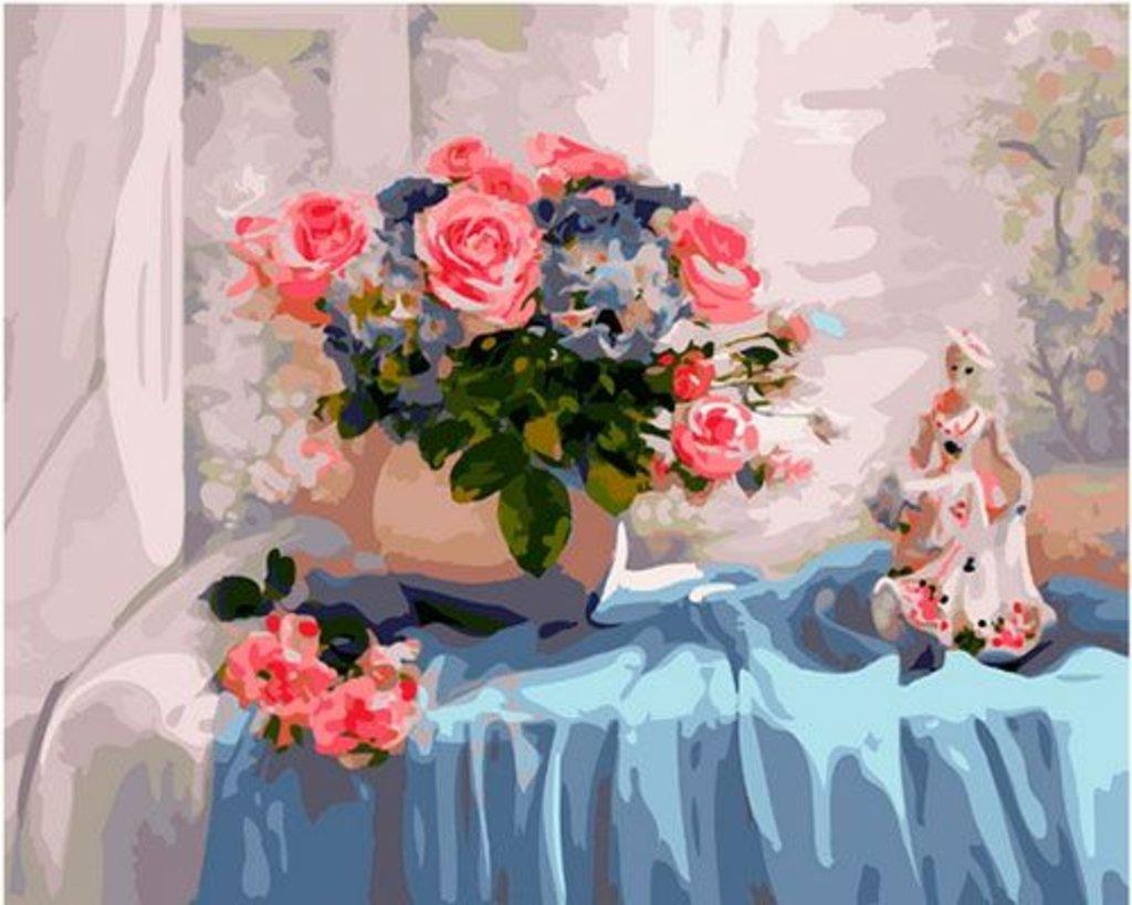 Картины по номерам: Картина по номерам Paintboy 40*50 GX37680 Натюрморт в Шедевр, художественный салон