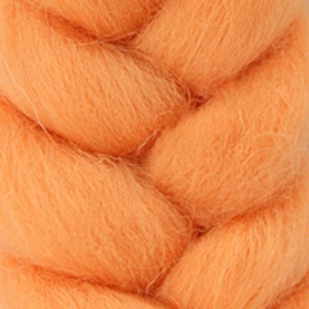 Фелтинг: Шерсть для валяния п/т КАМТ 50г цв.037 персик в Шедевр, художественный салон