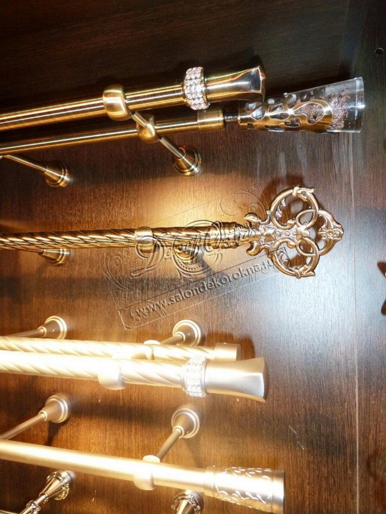 Карнизы для штор: Карнизы металлические Д16 и Д20 в Декор окна, салон