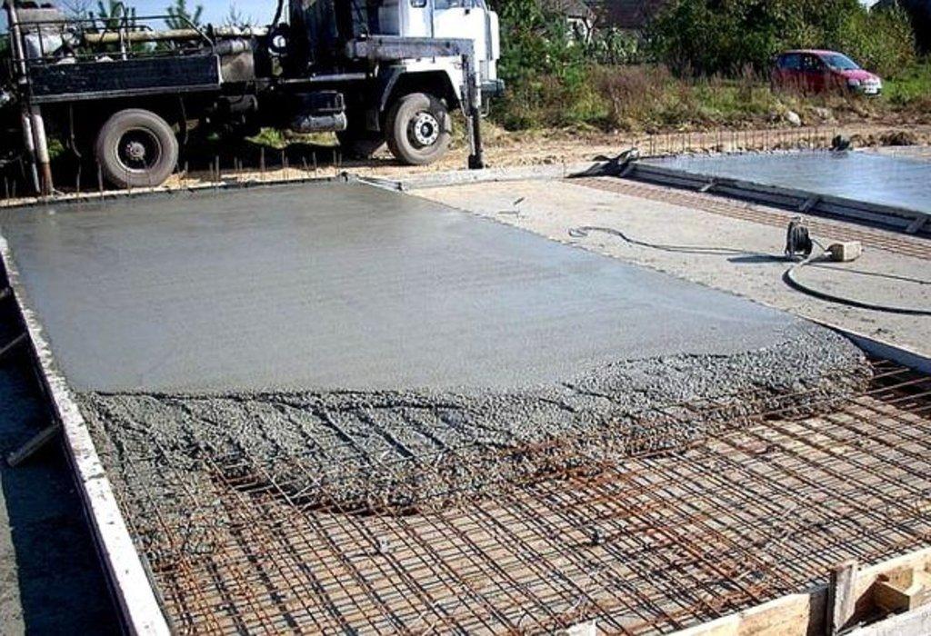 Бетонные работы-фундамент: Заливка бетона в А-Строй