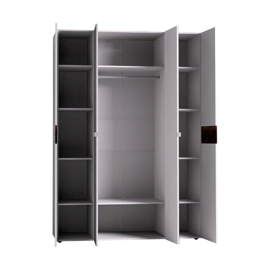 Мебель для спален, общее: Шкаф для одежды и белья Норвуд 555 в Стильная мебель