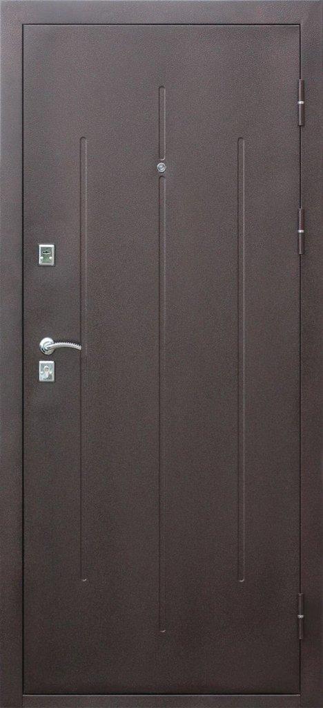Двери Цитадель: Дверь входная металлическая Стройгост 7-2 металл/металл в Салон дверей Доминго Ноябрьск