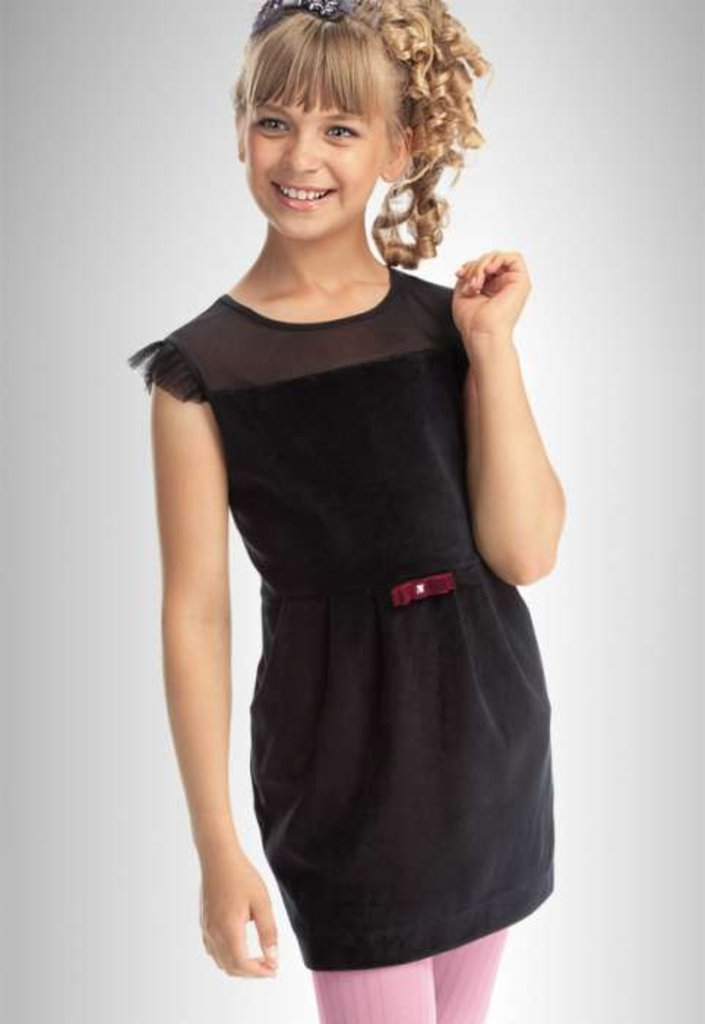 Платья и сарафаны для девочек: Платье Пеликан в Чиполлино,  магазин детской одежды