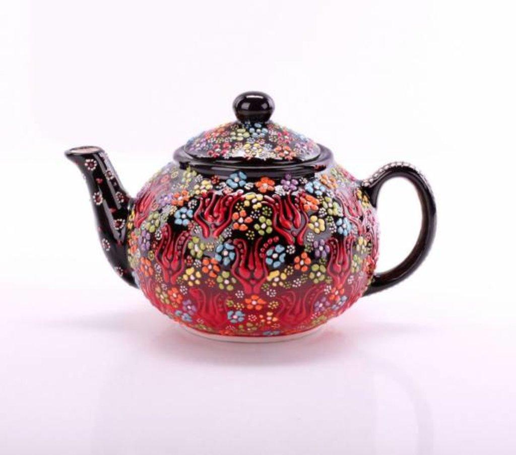 Мангалы. Казаны. Узбекская и турецкая посуда: Чайник точечный Турецкая керамика в Сельский магазин