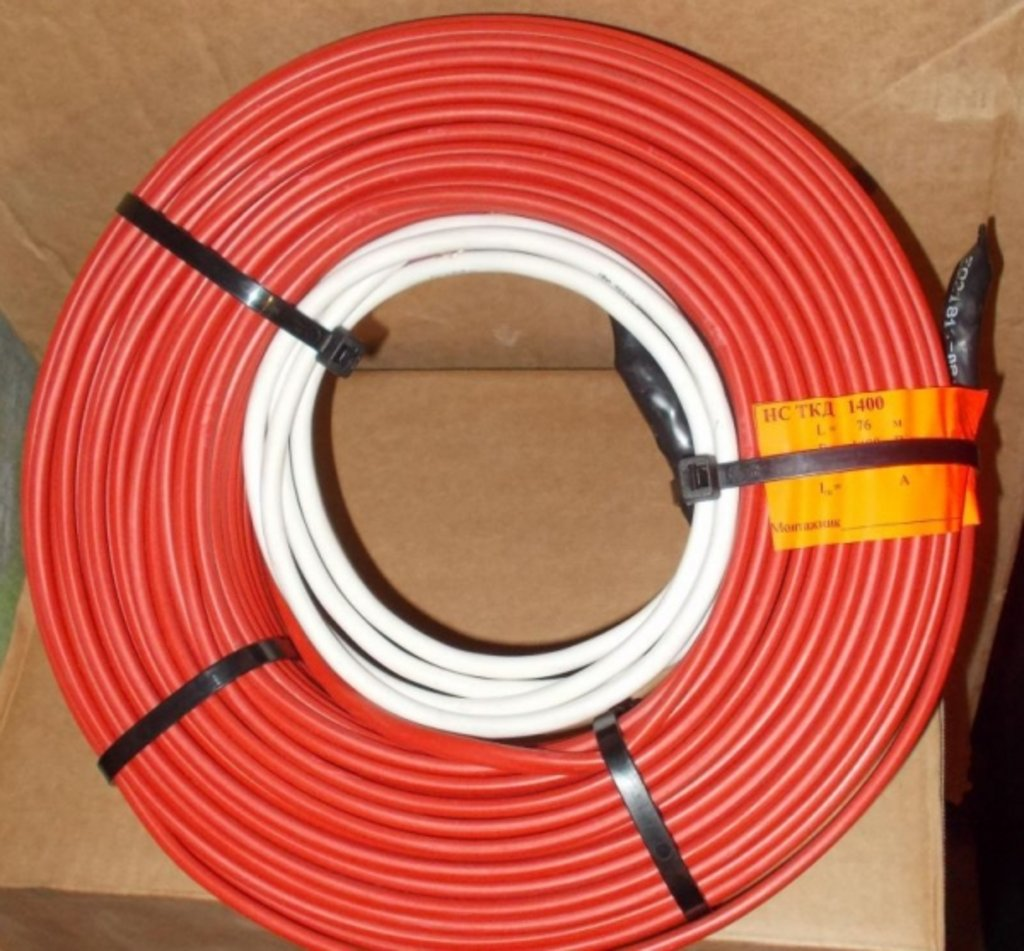 Теплокабель одножильный экранированный греющий кабель (Россия): кабель ТК-600 в Теплолюкс-К, инженерная компания