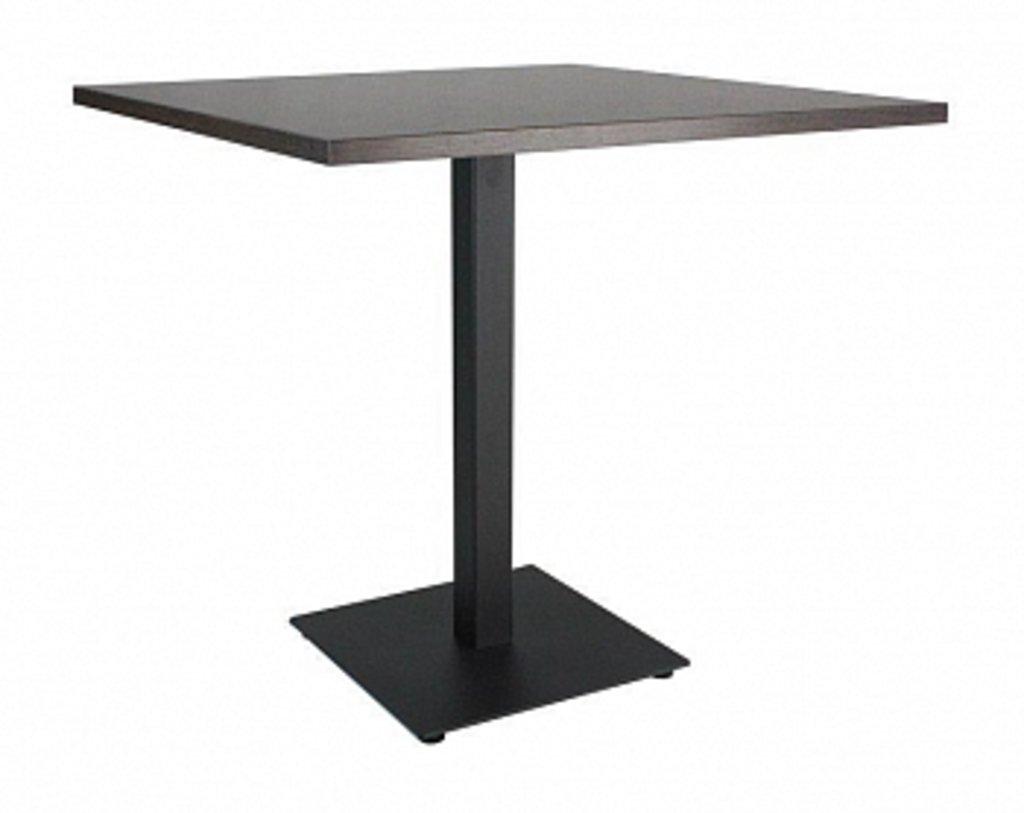 Столы для ресторана, бара, кафе, столовых.: Стол квадрат 78х78, подстолья 01 С-60 чёрная в АРТ-МЕБЕЛЬ НН