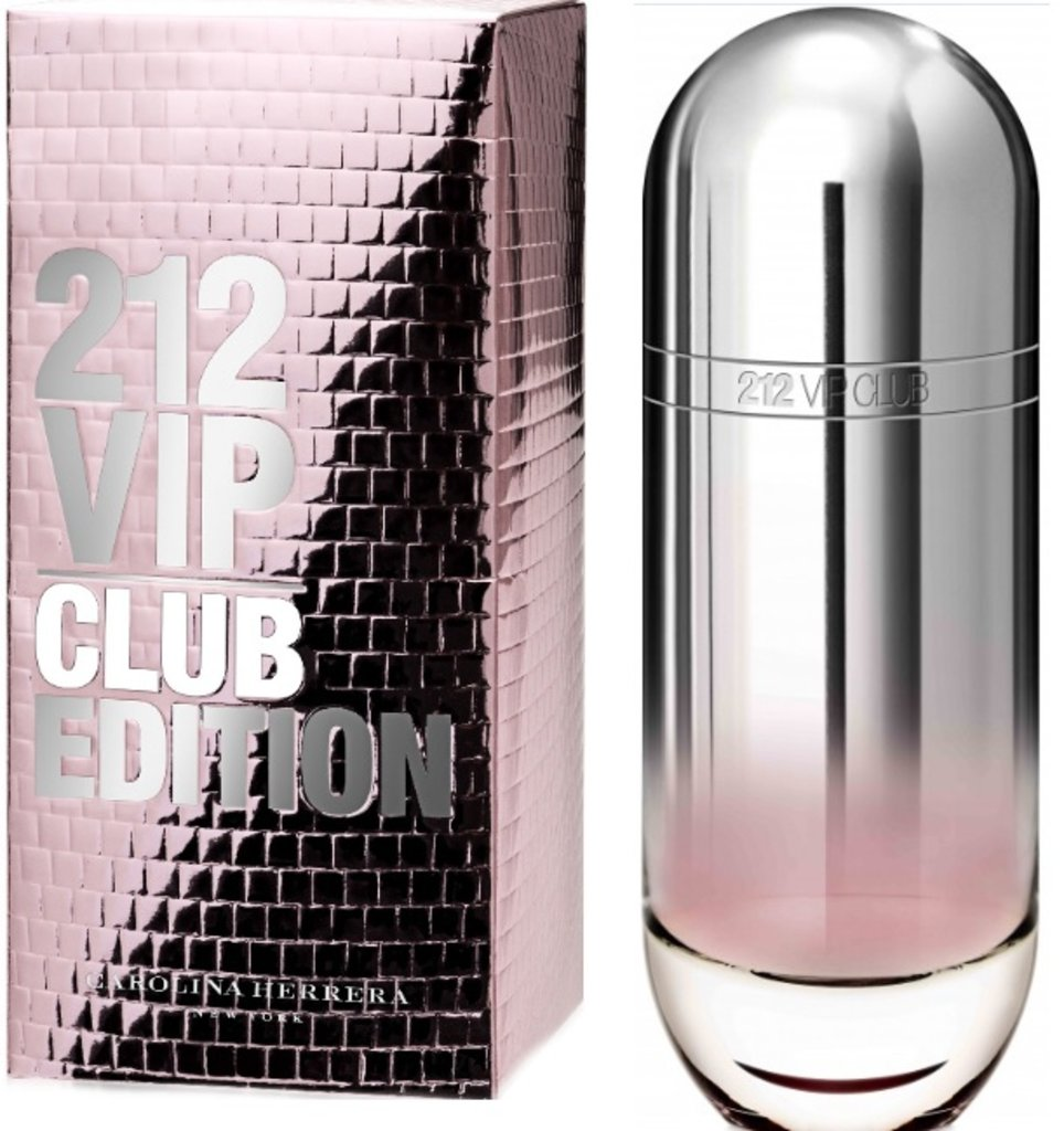Мужская туалетная вода Carolina Herrera: CH 212 VIP Club edt м 80 ml в Элит-парфюм