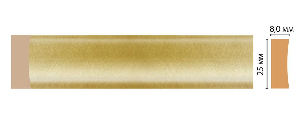 Молдинги: Цветной молдинг DECOMASTER D046-374 (25*8*2400) в Мир Потолков