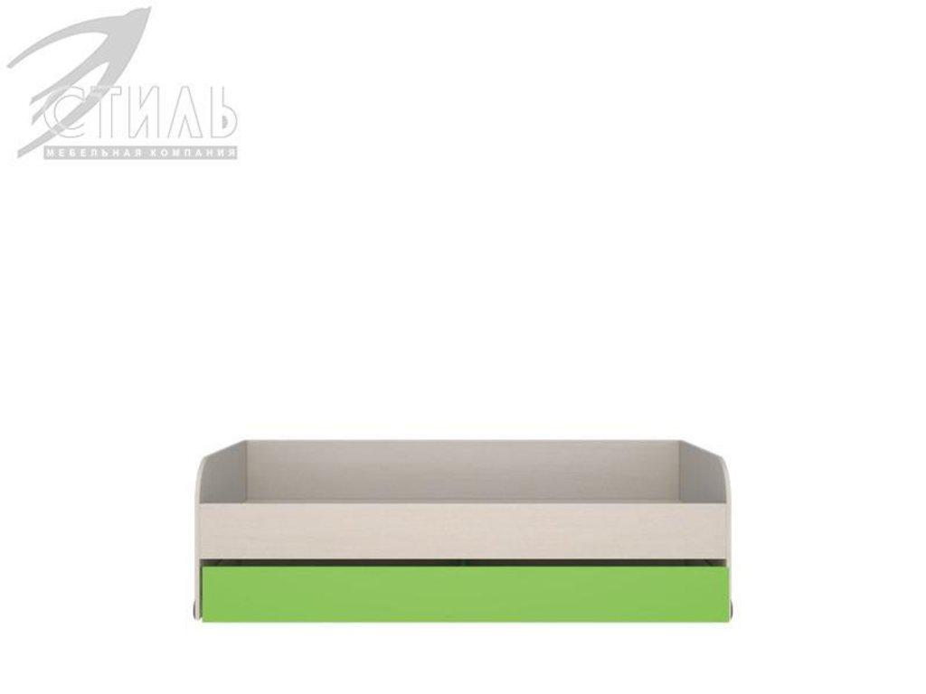 Мебель для детской Мийа - 2 (зеленый): Кровать нижняя Мийа - 2 (зеленый) в Диван Плюс