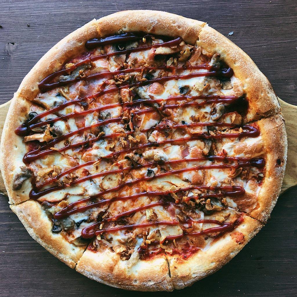 Пицца: Барбекю в Пиццуля Кемерово