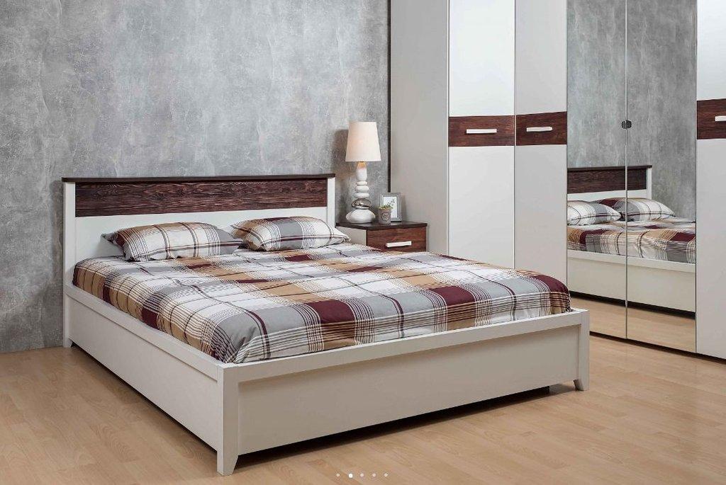 Кровати: Кровать Норвуд 32 (1600, орт. осн. дерево) в Стильная мебель