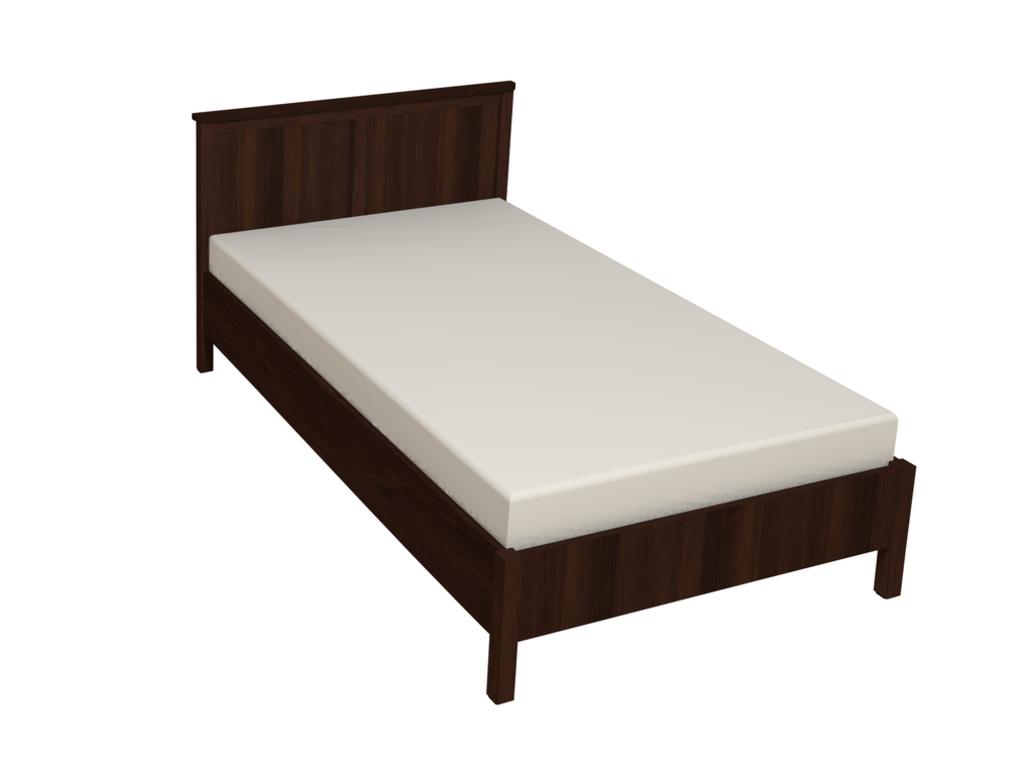 Кровати: Кровать Sherlock 44 (1200, орт. осн. дерево) в Стильная мебель