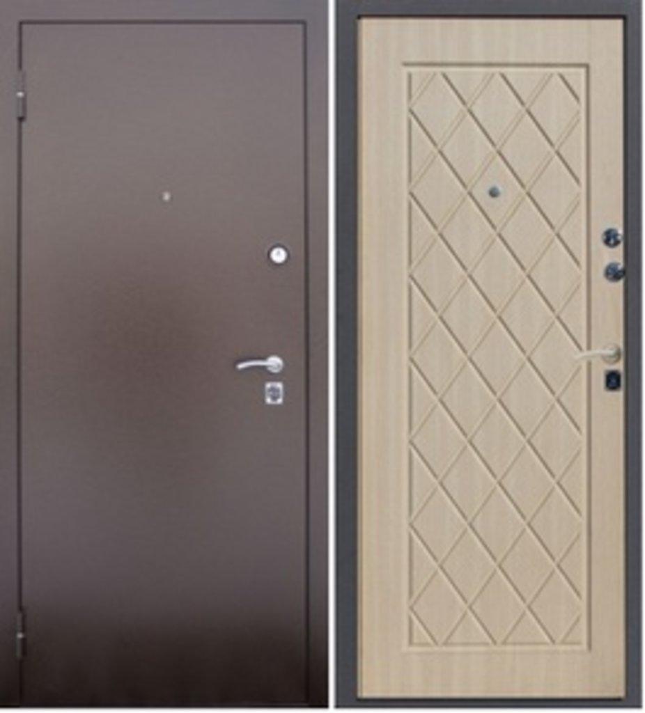Входные двери Алмаз: АЛМАЗ Крокодил-Беленый дуб в Модуль Плюс