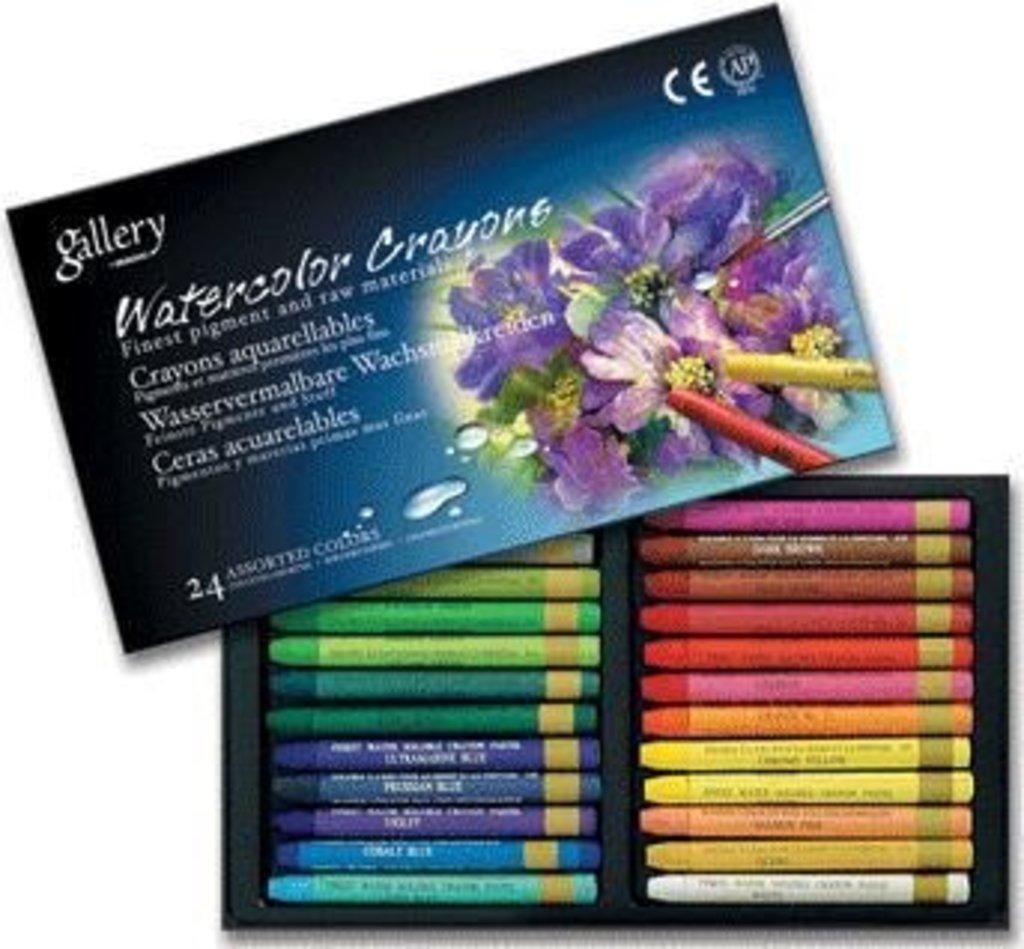Акварельные карандаши: Акварельные профессиональные пастельные мелки Gallery Mungyo Корея 24 цвета в Шедевр, художественный салон