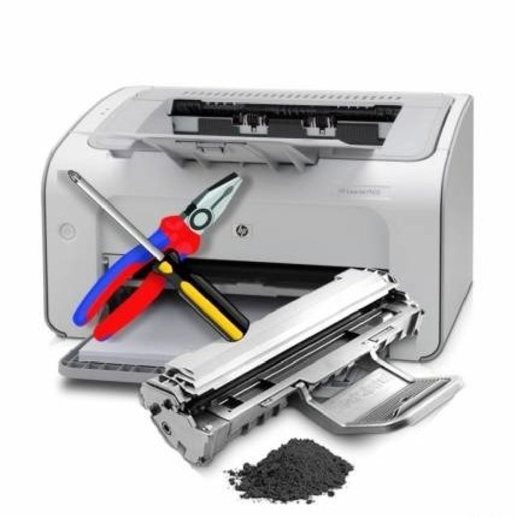 Заправка картриджей: Профилактика принтера формата А4 в ОргСервис+