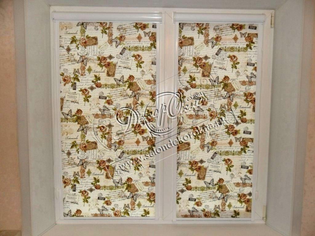 Рулонные шторы: Рулонные шторы система Уни в Декор окна, салон
