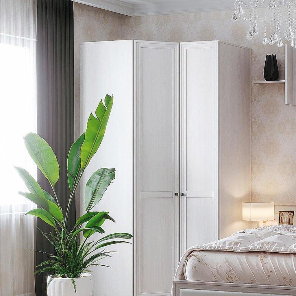 Шкафы для спальни: Шкаф угловой PAOLA 156 (Стандарт лев.) в Стильная мебель