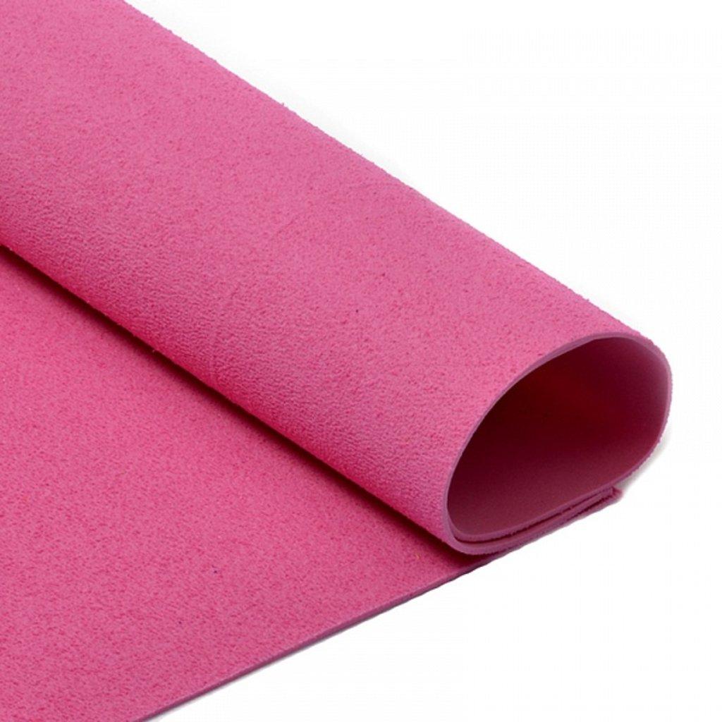 Фоамиран: Фоамиран махровый 2мм 20*30см розовый, 1 лист в Шедевр, художественный салон
