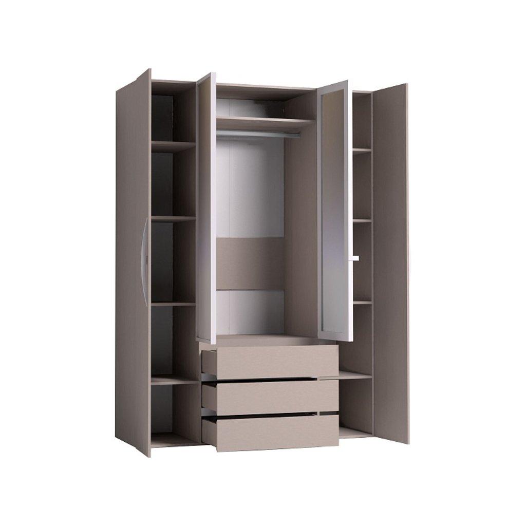 Мебель для спален, общее: Шкаф для одежды и белья Brownie 555 в Стильная мебель