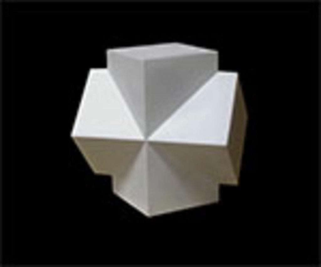 Гипсы: Сечение двух параллелепипедов, гипс в Шедевр, художественный салон