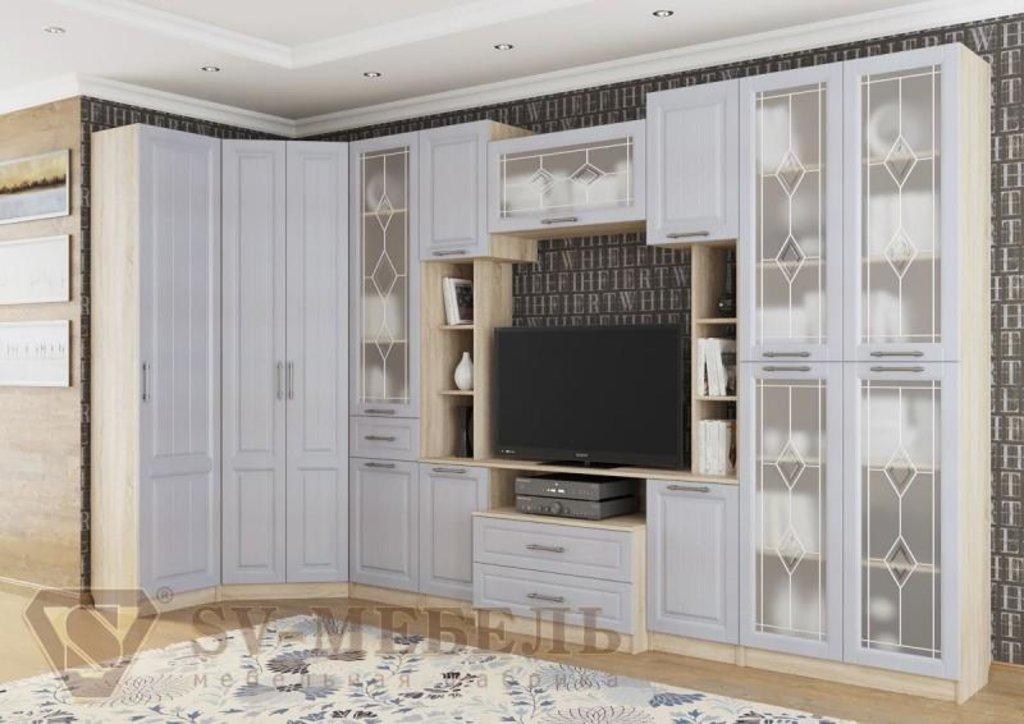 Мебель для гостиной Прованс-1: Тумба для телевидеоаппаратуры Прованс-1 в Диван Плюс