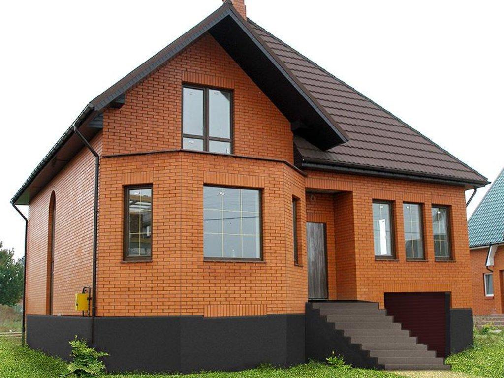 Строительство: Дом из кирпича (черновой вариант) в А-Строй