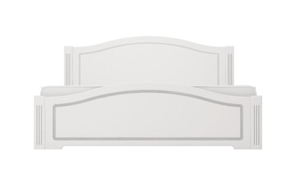 Кровати: Кровать двуспальная Виктория (1800, латы дерево) в Стильная мебель