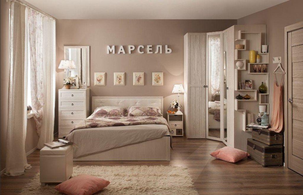 Модульная мебель в спальню Марсель: Модульная мебель в спальню Марсель в Стильная мебель
