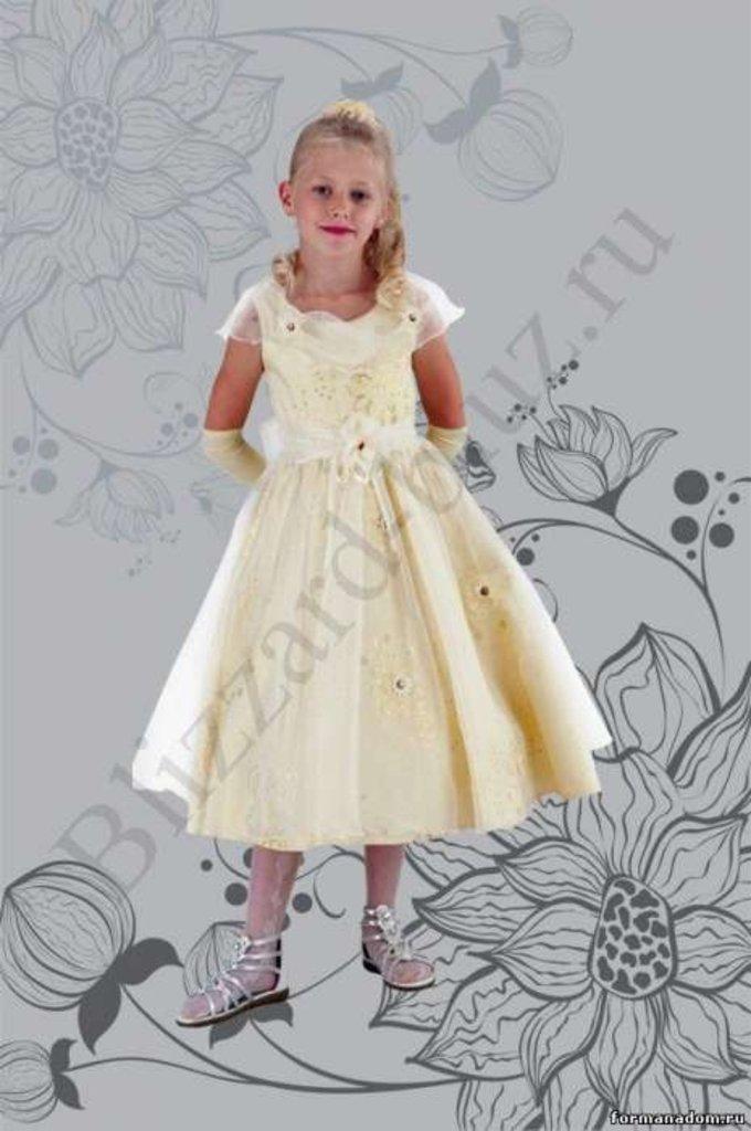 Платья и сарафаны для девочек: Платье Орхидея в Чиполлино,  магазин детской одежды