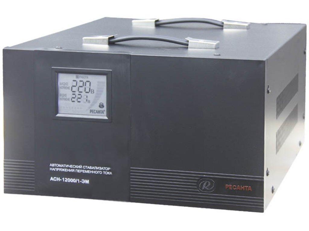 Электромеханического типа: Однофазный стабилизатор электромеханического типа РЕСАНТА АСН-10000/1-ЭМ в РоторСервис, сервисный центр, ИП Ермолаев Д. И.