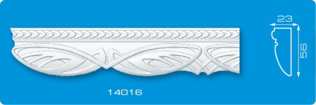 Плинтуса потолочные: Плинтус потолочный ФОРМАТ 14016 инжекционный длина 1,3м, средний в Мир Потолков