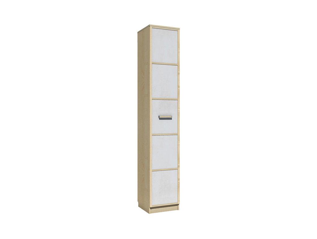 Детские шкафы и стеллажи: Шкаф для белья НМ 013.01-02 Фанк в Стильная мебель