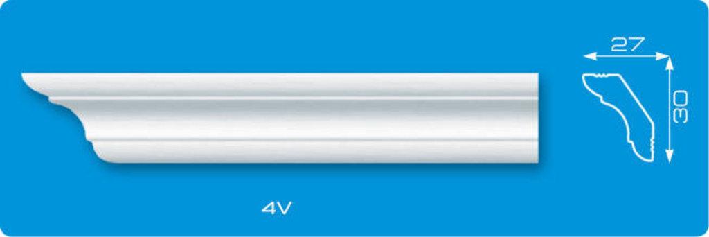 Плинтуса потолочные: Плинтус потолочный ЛАГОМ ДЕКОР 4v экструзионный длина 2м в Мир Потолков