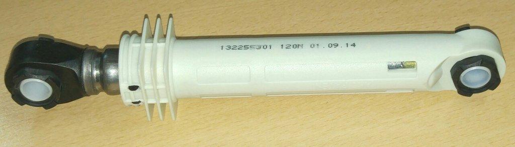 Амортизаторы: Амортизаторы для стиральных машин 120N, L=180..275mm, втулки D10/D10, (компл.-2шт), 124017210, 1240172104, SAR005ZN, 41017168, 41009196, SAR005ZN, SAR015ZN, 12ph32, 78CY001 в АНС ПРОЕКТ, ООО, Сервисный центр
