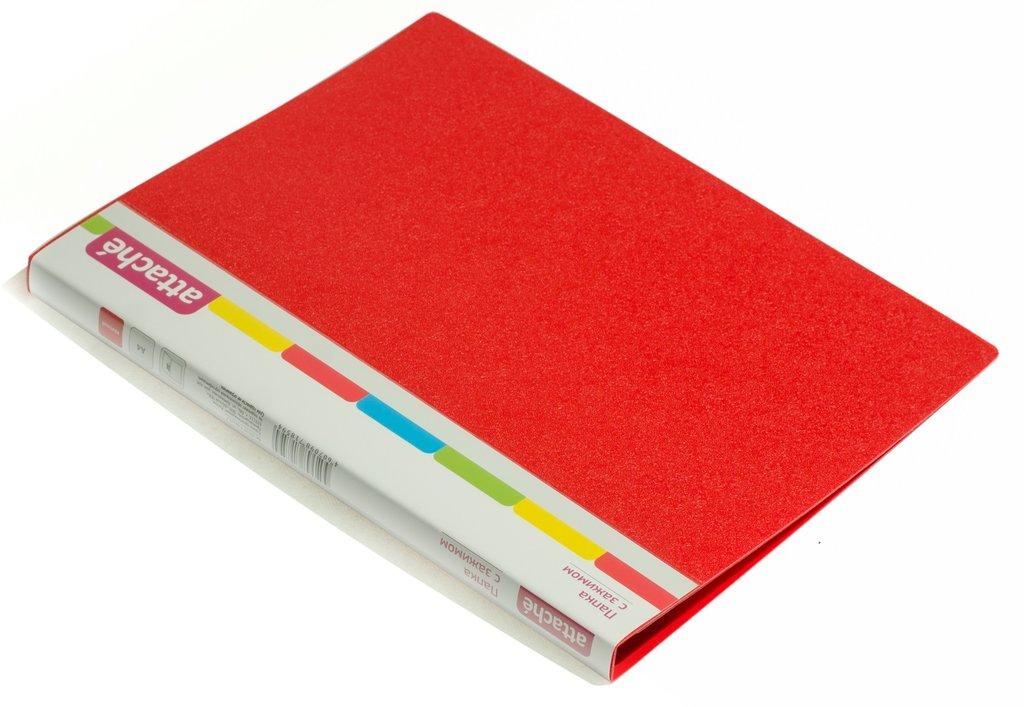 Канцтовары: Папка с файлами Attache A4, 10 л. в ОргСервис+