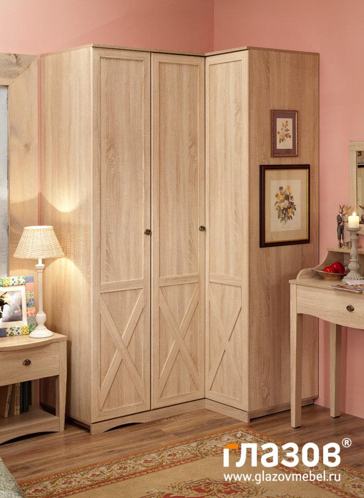 Шкафы для спальни: Шкаф угловой ADELE 14 в Стильная мебель