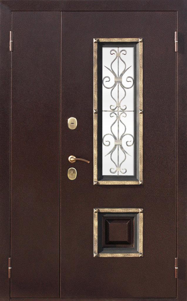 Входные двери (премиум)  от 90-110мм: Входная дверь  ВЕНЕЦИЯ 1200мм в Пластиковые окна в Сургуте STEKLOMASTER