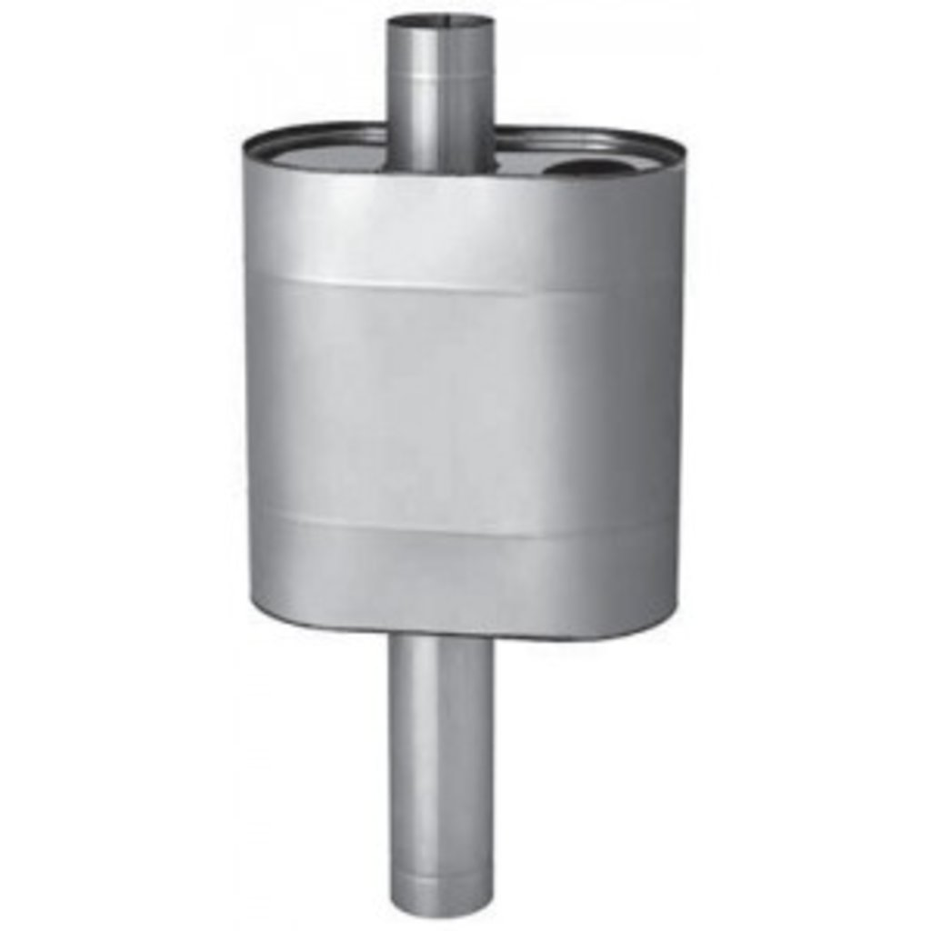 Печи и дымоходы: Бак Феррум Комфорт самоварного типа 60 л нержавеющий (AISI 201/1,0 мм) ф115 мм элипс в Погонаж
