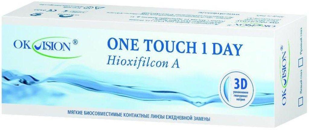 Контактные линзы: Контактные линзы One Touch 1 Day однодневные (30шт / 8.6) Ok Vision в Лорнет
