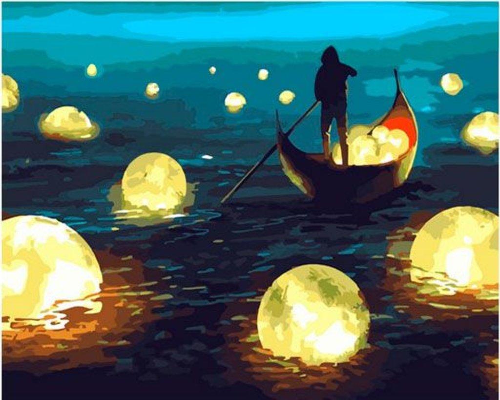 Картины по номерам: Картина по номерам Paintboy 40*50 GX35171 Хранитель ночи в Шедевр, художественный салон