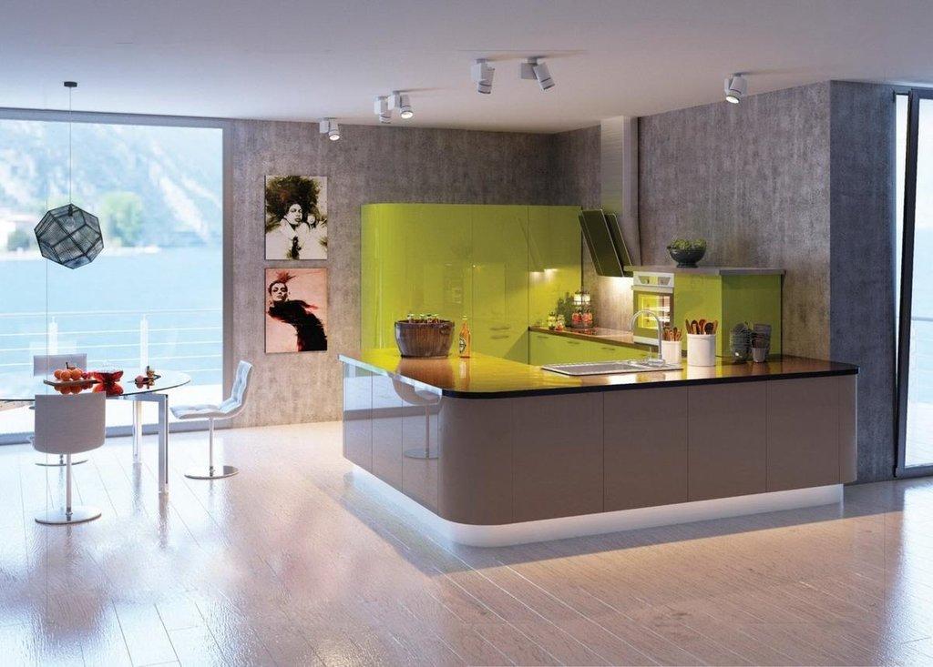 Кухни: Кухня Лайм в Модный интерьер