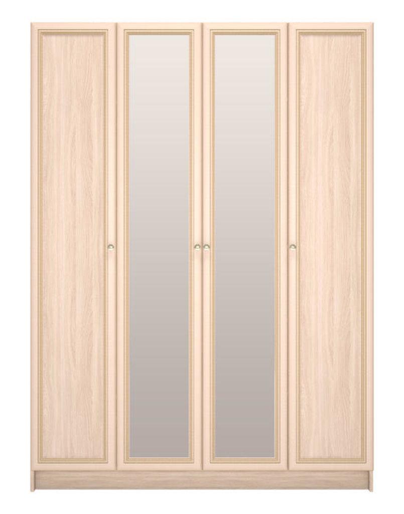 Шкафы для одежды и белья: Шкаф для одежды 4-х дверный 29 Брайтон в Стильная мебель