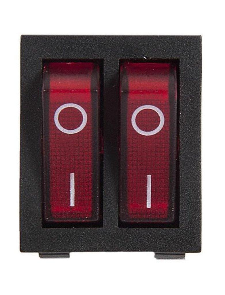 Запчасти  для водонагревателей: Выключатель 2-клавишный для водонагревателя Thermex (Термекс) в АНС ПРОЕКТ, ООО, Сервисный центр
