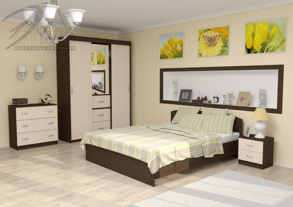 Мебель для спальни Рио-2: Тумба прикроватная Рио-2 в Диван Плюс