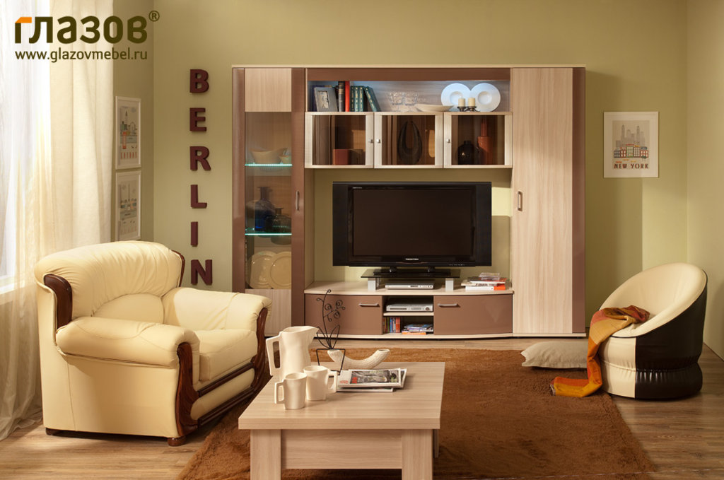 Витрины для гостиных: Витрина BERLIN 15 в Стильная мебель