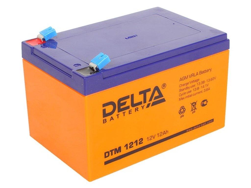 Delta: DELTA DTM 1212 в БазаАКБ
