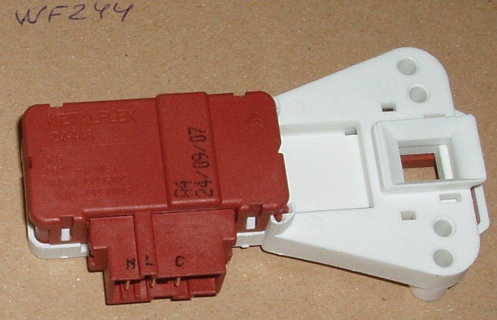 Термоблокировка люка для стиральной машины (УБЛ): Термоблокировка люка (УБЛ - устройство блокировки люка) для стиральных машин Whirlpool (Вирпул), Vestel (Вестел) WF244 в АНС ПРОЕКТ, ООО, Сервисный центр